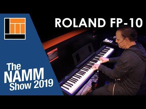 FP-10 Portable Digital Piano w/Speakers - Black