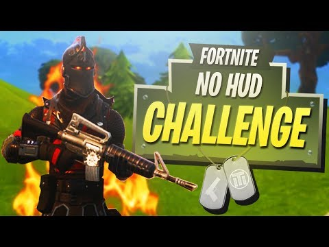 Download Youtube: Is This The HARDEST CHALLENGE Yet? - No HUD Challenge! - PS4 Fortnite Gameplay!