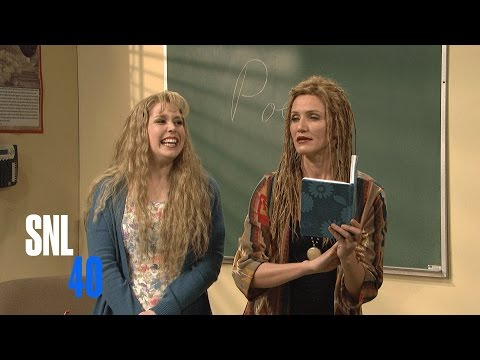 Poetry Class with Cameron Diaz - SNL