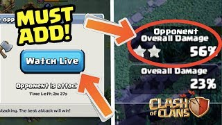 "5 ""Builder Base"" Features that MUST be Added to Clash of Clans!"