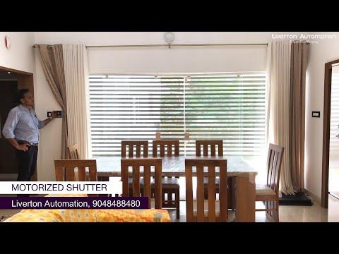 Motorized Roller Shutters For Home - Kerala | Automated Garage Shutter  | Smart Home - Kerala, Kochi