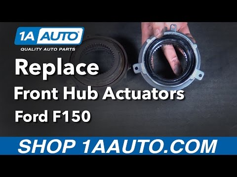 How To Replace Front Hub Actuator 05-13 Ford F150