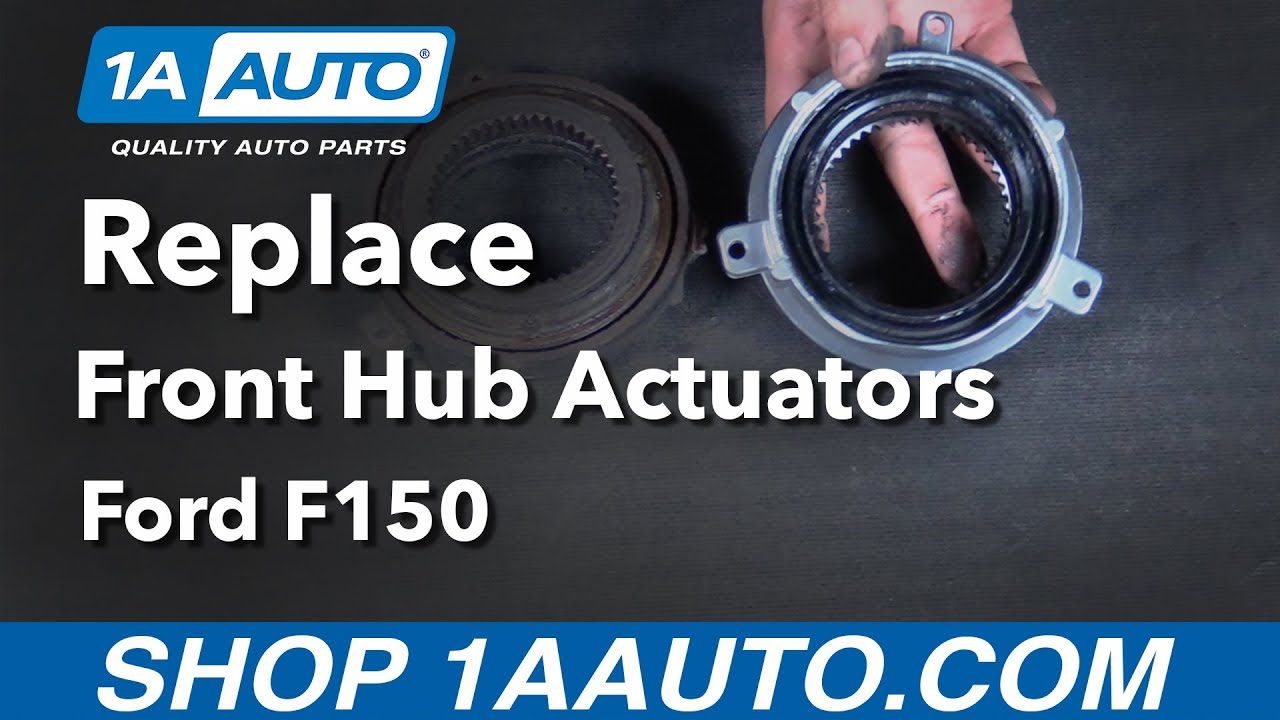 How to replace install front hub actuator 05 13 ford f150 buy quality auto parts from 1aauto com youtube