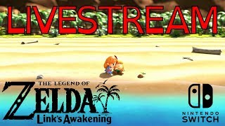Legend of Zelda Link's Awakening - Livestream 03 - (720p 60fps)