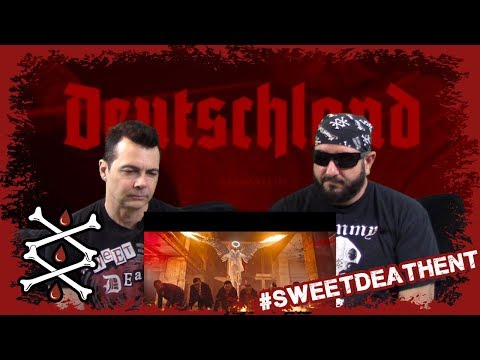 Deutschland (CLEAN AUDIO) By Rammstein Reaction Review By AJ Motts And RJ Stone