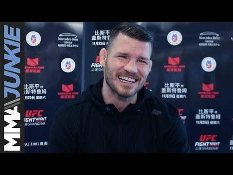Michael Bisping full pre-fight interview at UFC-Shanghai