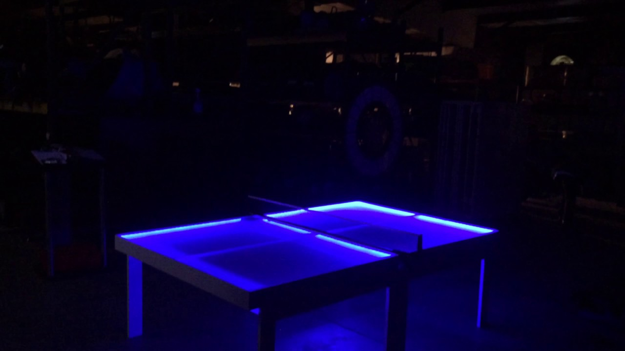 LED PING PONG TABLE FOR SALE