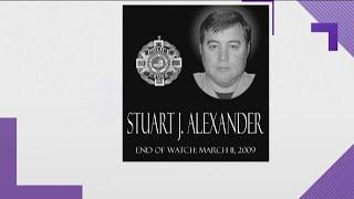 Corpus Christi police remember fallen Lt. Stuart Alexander