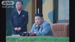 韓国へ「重大な警告」金委員長 新型兵器の発射視察(19/07/26)