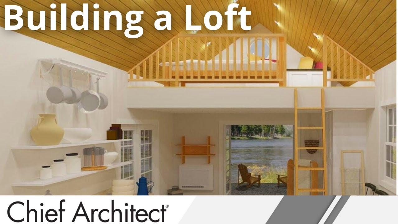 Home Designer Quick Tip Creating A Loft Youtube