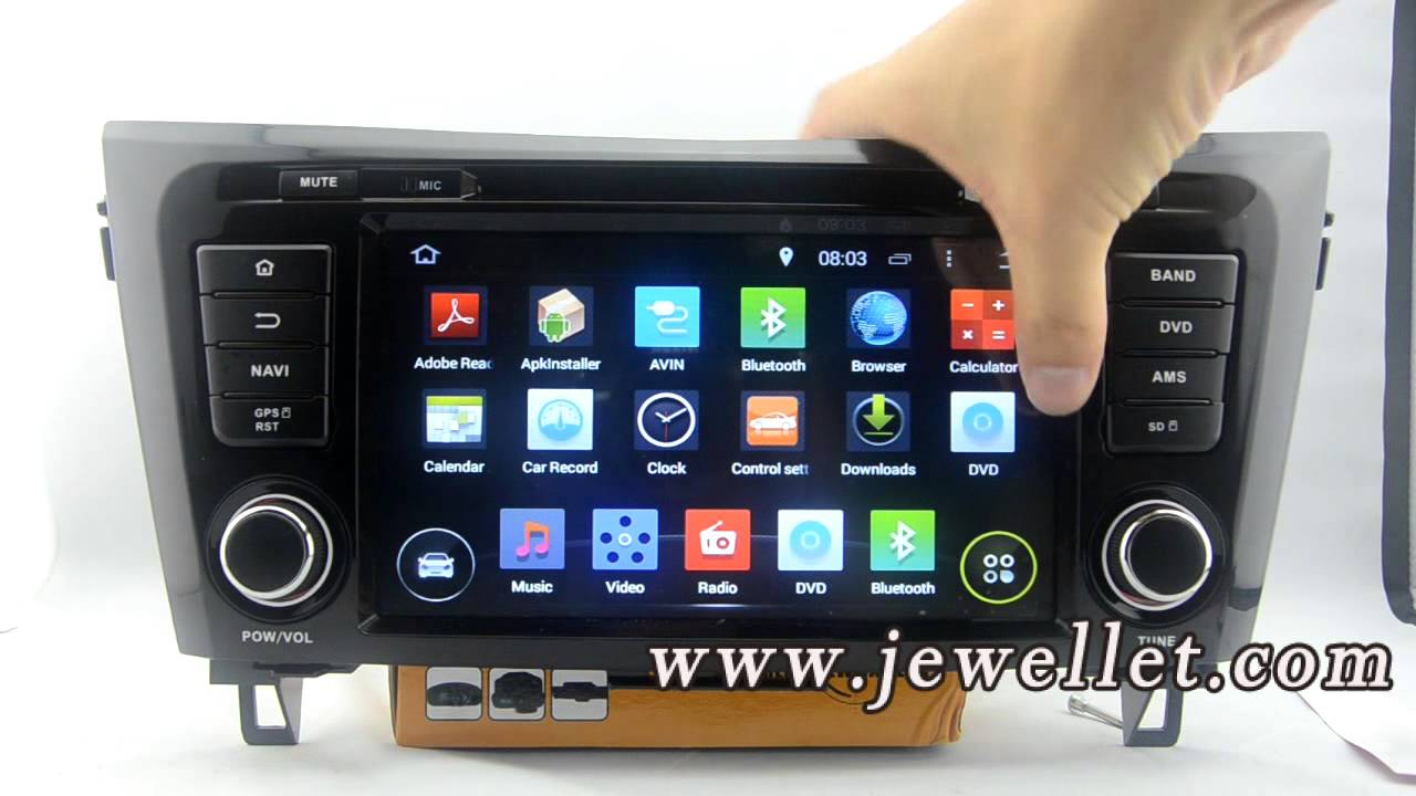 Android Nissan Qashqai X Trail Rogue 2014 Dvd Gps