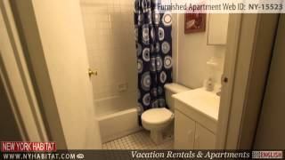 Video Tour of 2-Bedroom Furnished Apartment in Midtown West, Manhattan