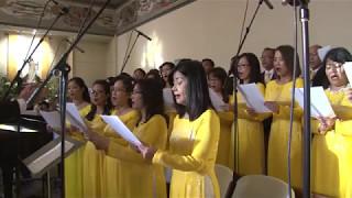 """""""CA MỪNG PHỤC SINH"""" do CĐ Hương Việt, CĐ St Boniface Anaheim, CA"""
