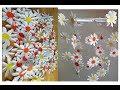 Поделки - Водопад из ромашек. Подвесное украшение из бумаги. Подарки и поделки на день матери и Пасху