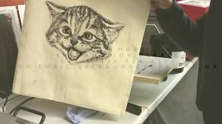MiSCREEN - print a shopper bag. its so easy!!