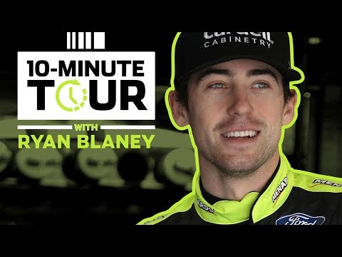 Ryan Blaney shows off custom Ford Bronco for charity at Darlington: 10-Minute Tour