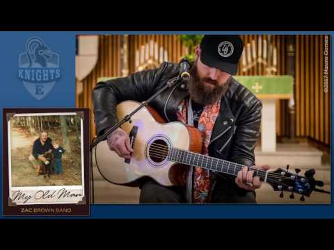 Zac Brown  My Old Man  acoustic performance in Houston  Super Bowl weekend