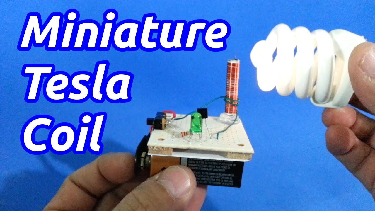 Miniature Solid State Tesla Coil  Slayer Exciter