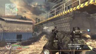 Modern Warfare 2: The ACR Event!   30-3 FFA on Scrapyard (MW2 Gameplay/Commentary)