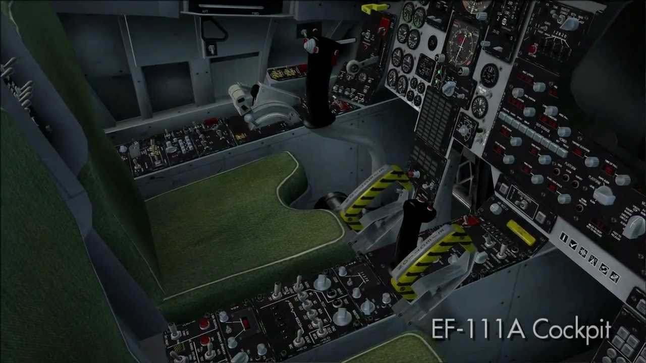Virtavia General Dynamics F-111 Aardvark - Cockpit Video ...