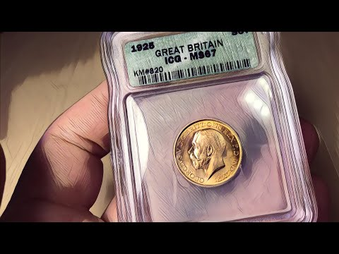 Here's a stonking example of a 1925 sovereign | made in 1925?