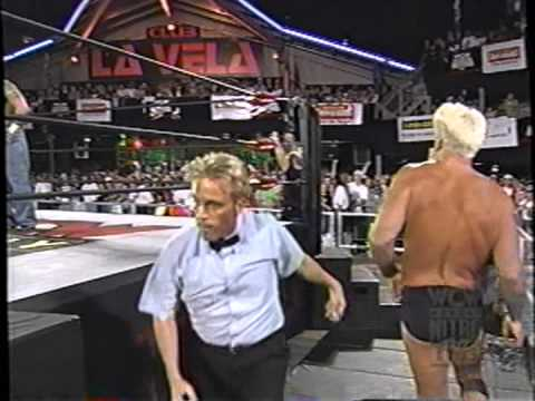Ric Flair March 1999 Spring Break Swimming Pool Youtube