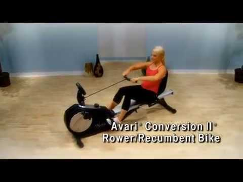 Stamina Avari Conversion II Rower Recumbent Bike A150 335 Overview