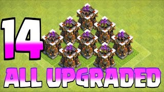 MAX UPGRADE ARCHER TOWER level 15 | Clash of Clans | 😱😱