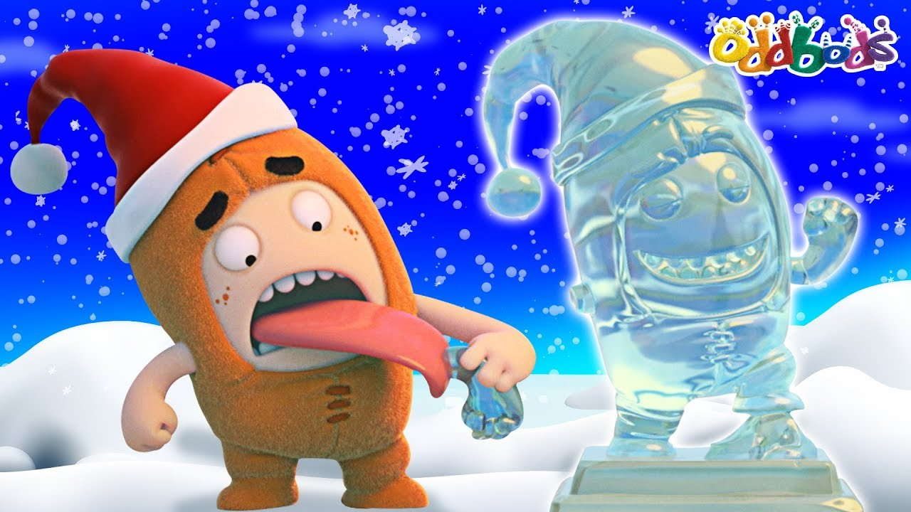 Oddbods | Ice Sculpture | CHRISTMAS Cartoons For Children