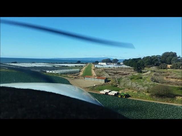 Landing at Monterey Bay Academy