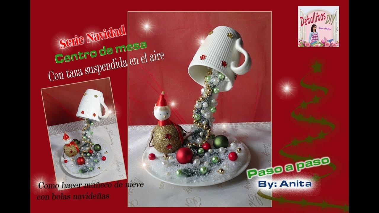 Centro de mesa para navidad youtube - Decoracion mesa de navidad ...