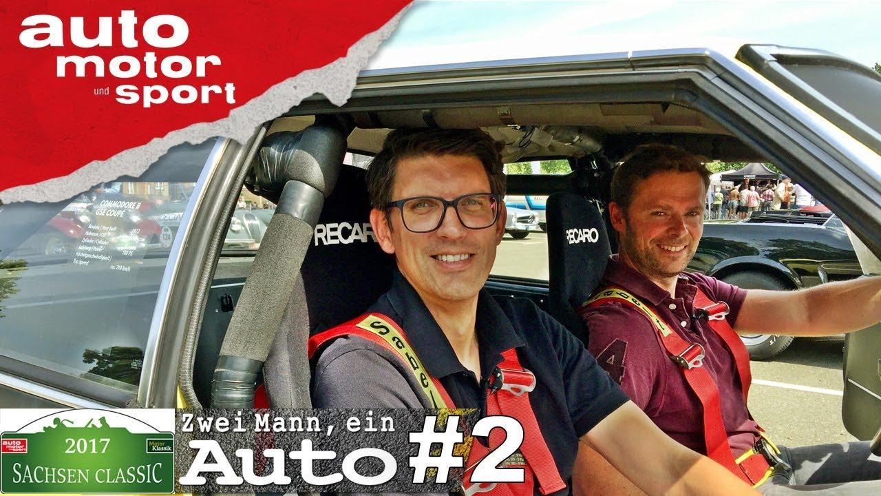 Opel Commodore B GSE Coupé – Zwei Mann, ein Auto (Sachsen Classic Spezial #2)| auto motor und sport