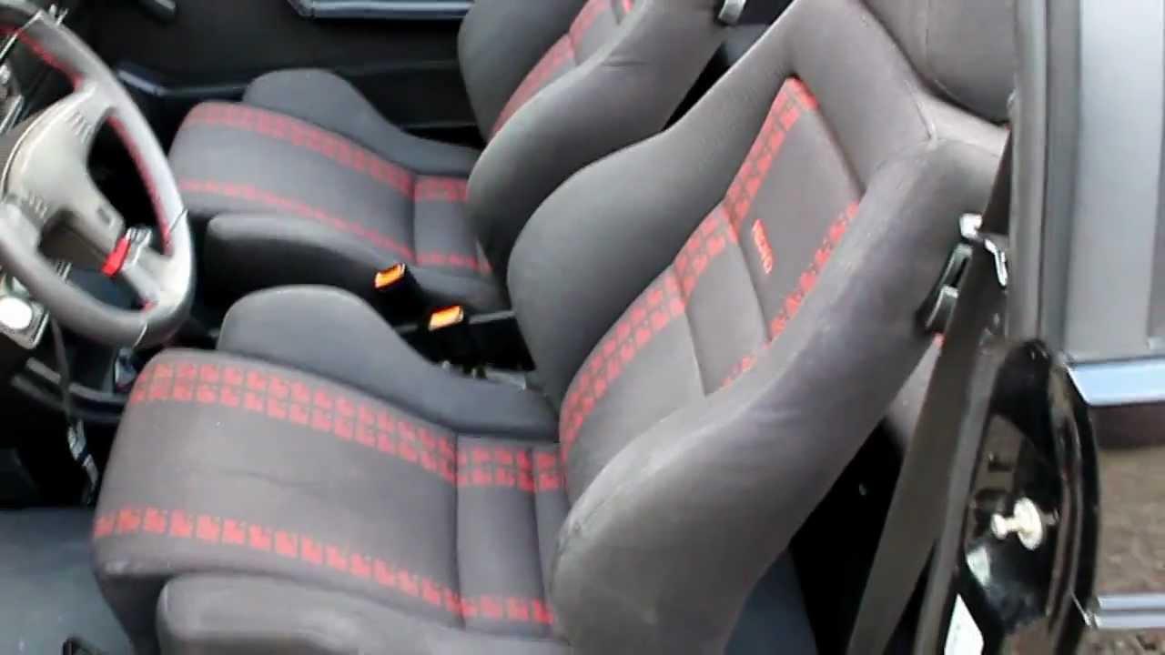 vw golf 1 cabrio sportline youtube. Black Bedroom Furniture Sets. Home Design Ideas