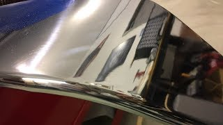 Kitplane Aluminum Gear Polish