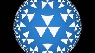 Скачать Hyperbolic Tessellation Animation