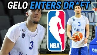 Gelo Ball Has Entered The NBA DRAFT! Full Lithuania Highlights 🔥