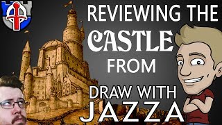 Is the castle by DRAW WITH JAZZA realistic?  feat Jazza himself