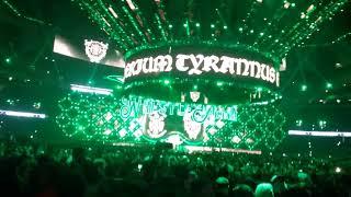 WM 34 Triple H and Stephanie McMahon entrance