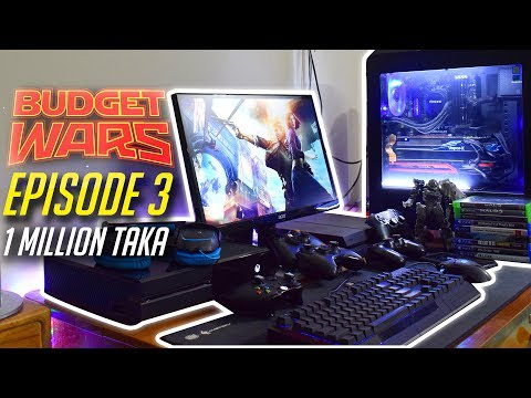 Budget Wars Episode 3 | 1 million taka Setup (Bangla)