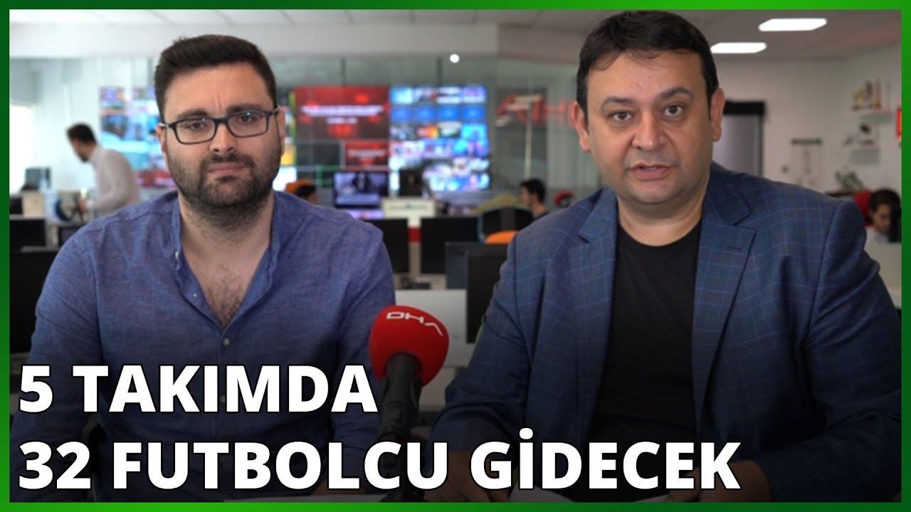 Süper Lig'in çehresi değişiyor! 5 takımda 32 futbolcu gidecek