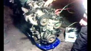 Peugeot 1.9L Diesel Engine Start