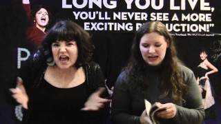 Patty & Emily Review The Fantasticks with Aaron Carter