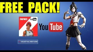 How to get the FREE YOUTUBE PACK in Fortnite!! (World Cup rewards) Red line Wrap