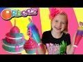 DIY Orbeez Crush Birthday Cake, Cupcake with Sweet Treat Studio & Safari Animals