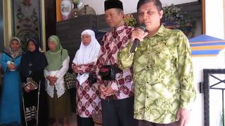 Acara Pamitan Keberangkatan Umroh H. Zainal Arifin bersama Istri (Hj. Sutinah)
