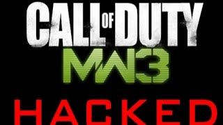 MW3 Hacked On Playstation 3 & Funny Sniping Match With Hacker!