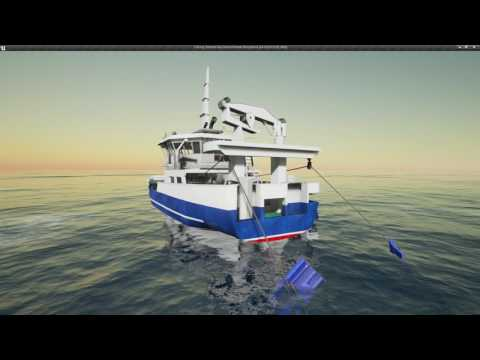 Fishing: Barents Sea - Alpha - Trawler Overview  