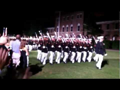 USMC Sunset Pass & Review at Marine Barracks, Wash., DC