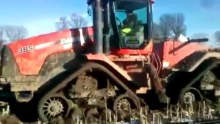 Tractors stuck in the mud compilation