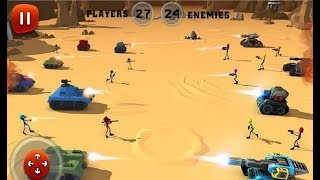 ► Stickman Aliens Battle Simulator 3D By Awesome Action Games - Android gameplay